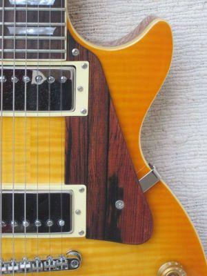 Humbucker-Gitarre: mit viel Schub und Trennung durch Amber PUs